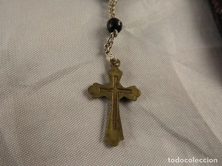 Antigüedades: MEDALLAS LLAVERO ROSARIO OBJETOS RELIGIOSOS ANTIGUOS - Foto 12 - 194866522