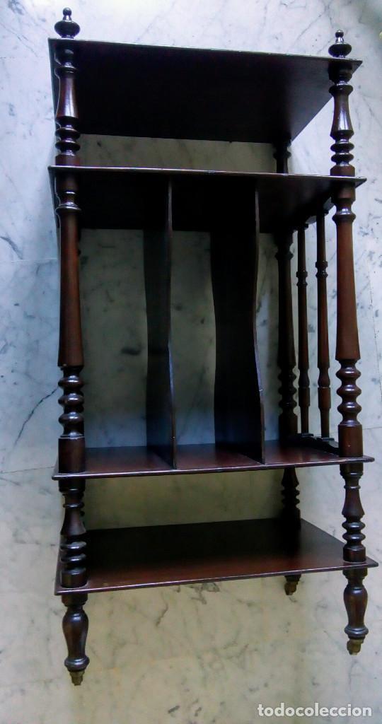 ANTIGUO MUEBLE INGLÉS (Antigüedades - Muebles Antiguos - Auxiliares Antiguos)