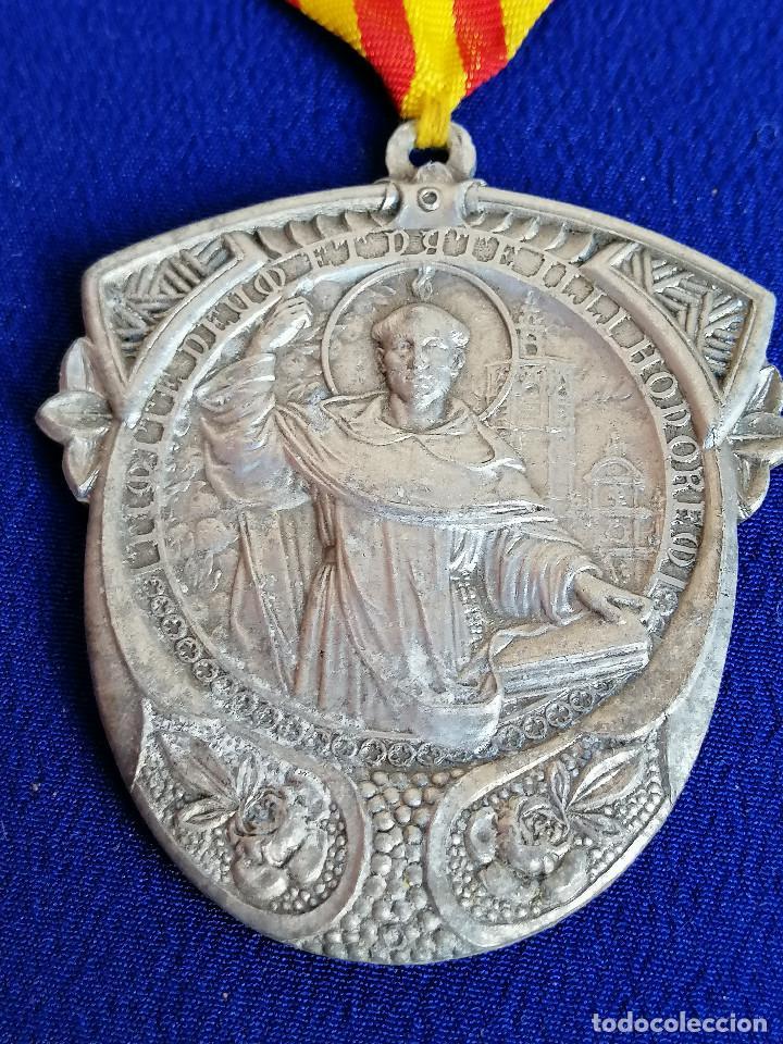 MEDALLA SAN VICENTE FERRER -VI CENTENARIO DEL NACIMIENTO 1350-1950 (MELIANA) (Antigüedades - Religiosas - Medallas Antiguas)