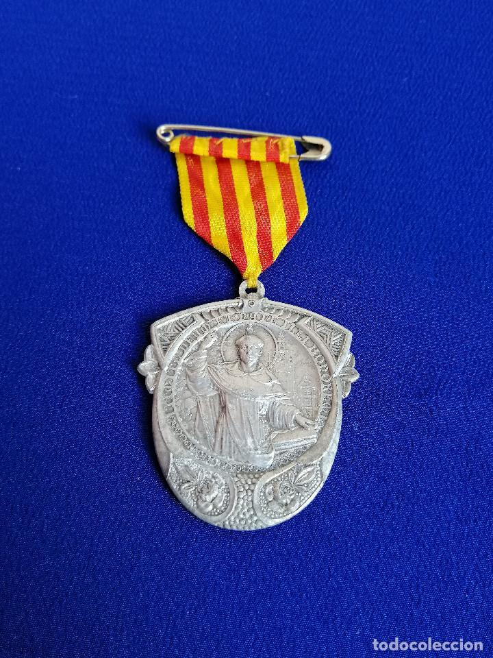Antigüedades: MEDALLA SAN VICENTE FERRER -VI CENTENARIO DEL NACIMIENTO 1350-1950 (MELIANA) - Foto 2 - 194871587