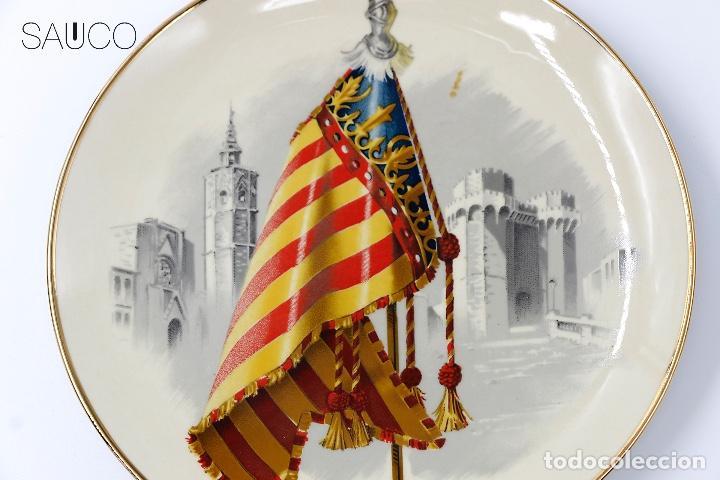 PLATO DE PORCELANA (Antigüedades - Porcelanas y Cerámicas - Otras)