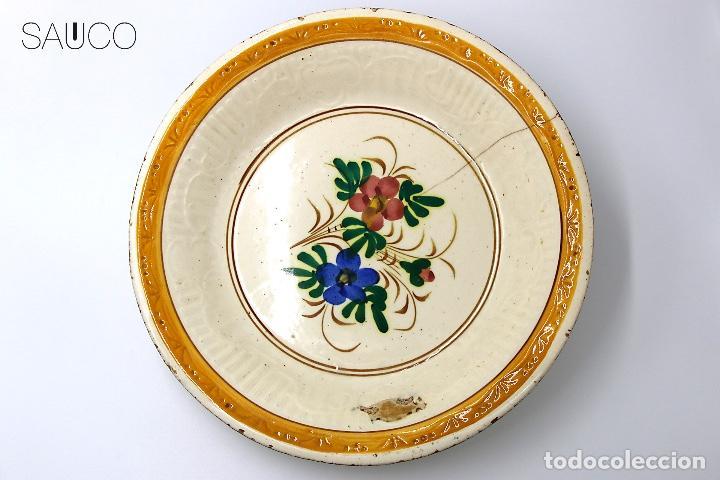 PLATO DE MANISES 1930 (Antigüedades - Porcelanas y Cerámicas - Otras)