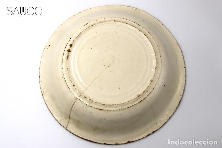 Antigüedades: PLATO DE MANISES 1930 - Foto 6 - 194873672