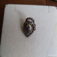 Antigüedades: PIN IMPERDIBLE CON LA IMAGEN DE SAN JOSE. Lote 194875170