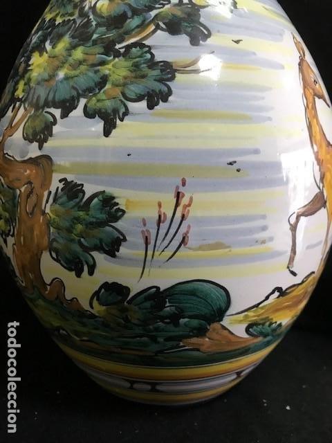 Antigüedades: ANTIGUO JARRÓN DE TALAVERA - Foto 7 - 194879166