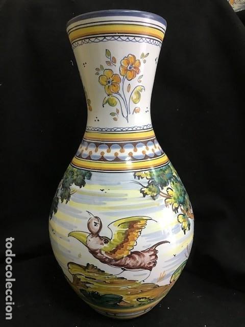 ANTIGUO JARRÓN DE TALAVERA (Antigüedades - Porcelanas y Cerámicas - Talavera)