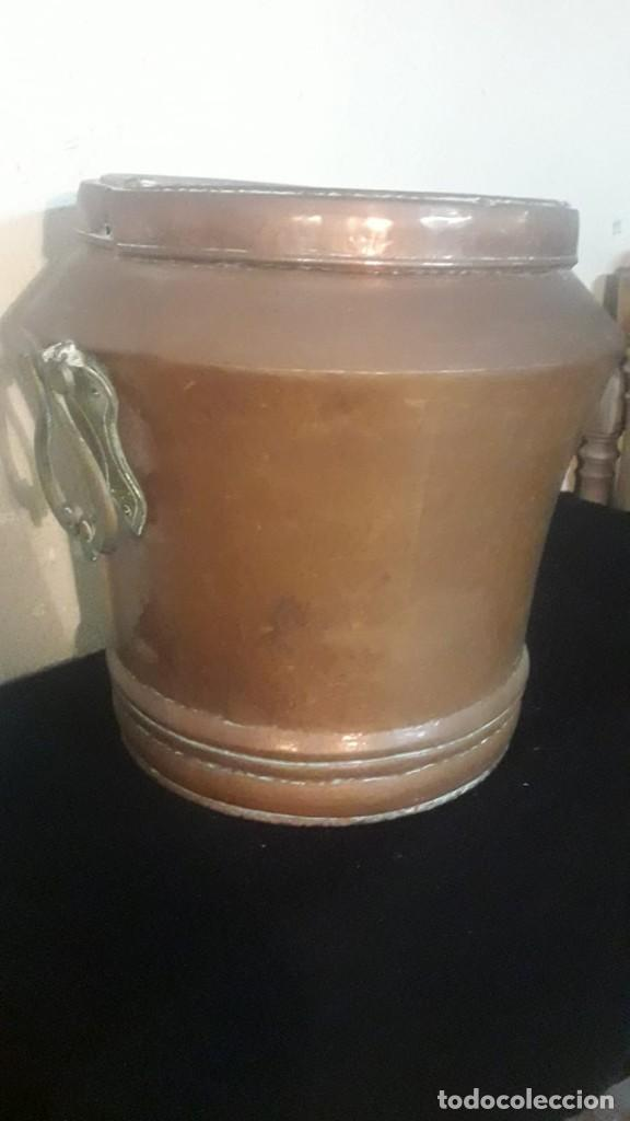Antigüedades: Deposito o tinaja de cobre - Foto 3 - 194882070
