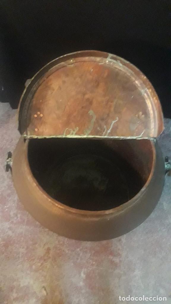 Antigüedades: Deposito o tinaja de cobre - Foto 5 - 194882070