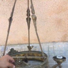Antigüedades: ANTIGUA LAMPARA ALTA DE IGLESIA!. Lote 194882526