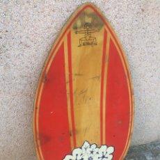 Antigüedades: ANTIGUA TABLA DE SURF DE MADERA!. Lote 194883102