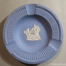 Antigüedades: CENICERO DE PORCELANA WEDGWOOD INGLESA. Lote 194886110