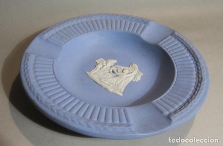Antigüedades: cenicero de porcelana wedgwood inglesa - Foto 3 - 194886110