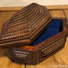 Antigüedades: CAJA BOX TRAMP. Lote 194887057