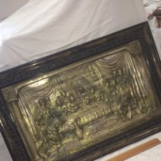 Antigüedades: ANTIGUO Y PRECIOSO CUADRO SANTA CENA!. Lote 194890096