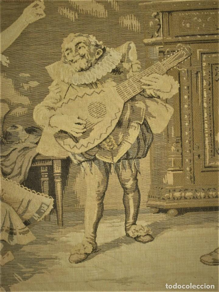 Antigüedades: TAPIZ SIGLO XIX , ESCENA ODALISCA. ENMARCADO - Foto 3 - 194890330