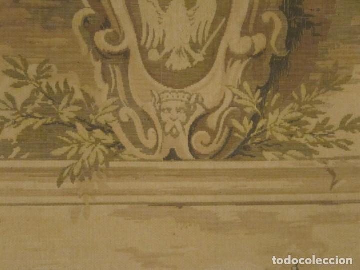 Antigüedades: TAPIZ SIGLO XIX , ESCENA ODALISCA. ENMARCADO - Foto 11 - 194890330
