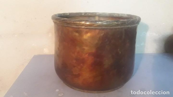 Antigüedades: Olla de cobre sin asas - Foto 8 - 194891313