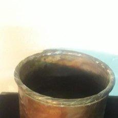 Antigüedades: OLLA DE COBRE SIN ASAS. Lote 194891313