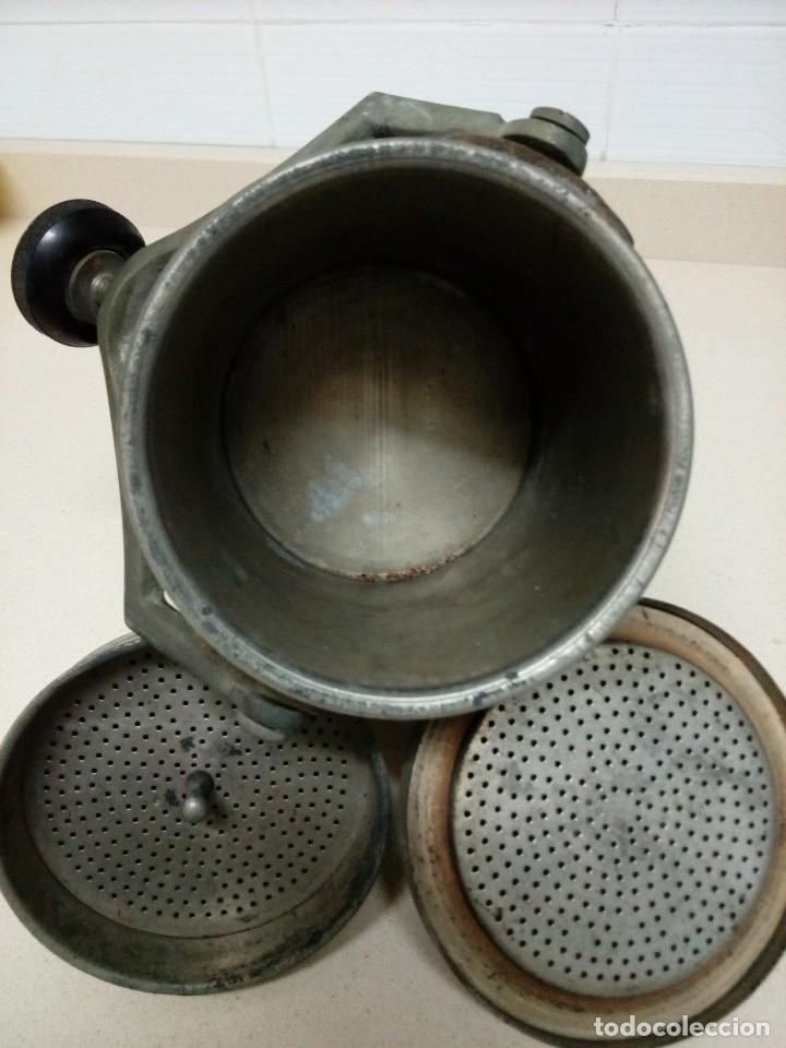 Antigüedades: Cafetera eléctrica.Altura 25 cm - Foto 3 - 194897936