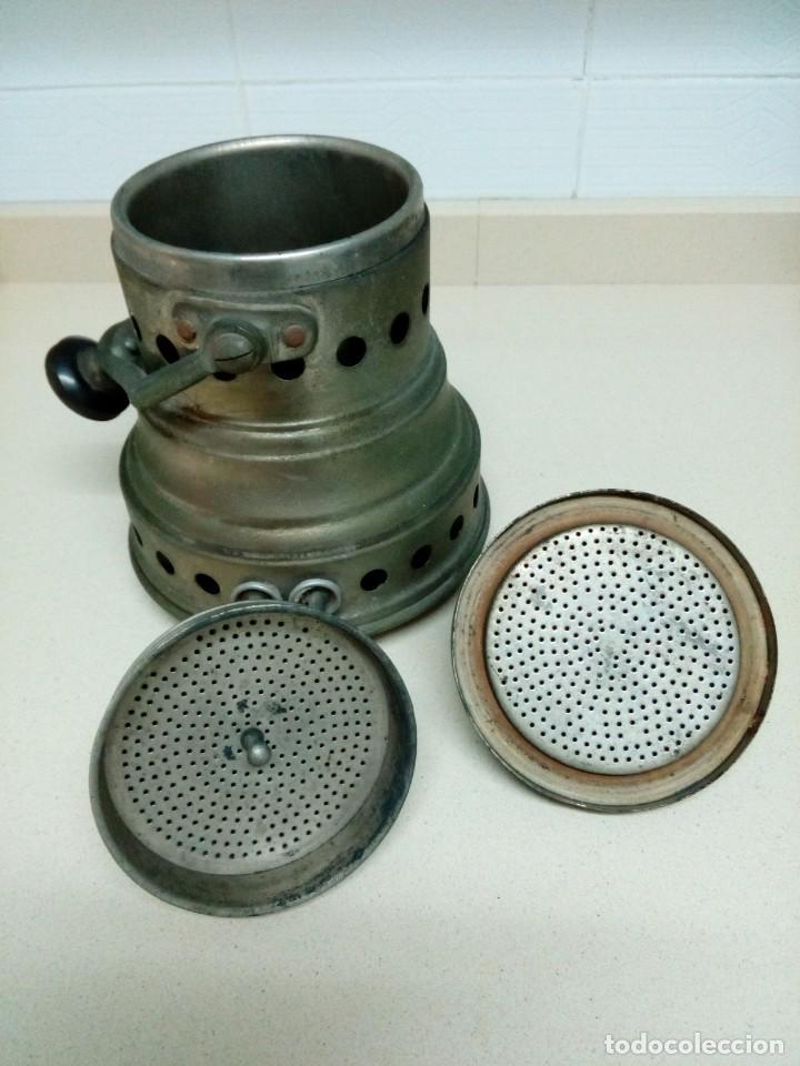 Antigüedades: Cafetera eléctrica.Altura 25 cm - Foto 4 - 194897936
