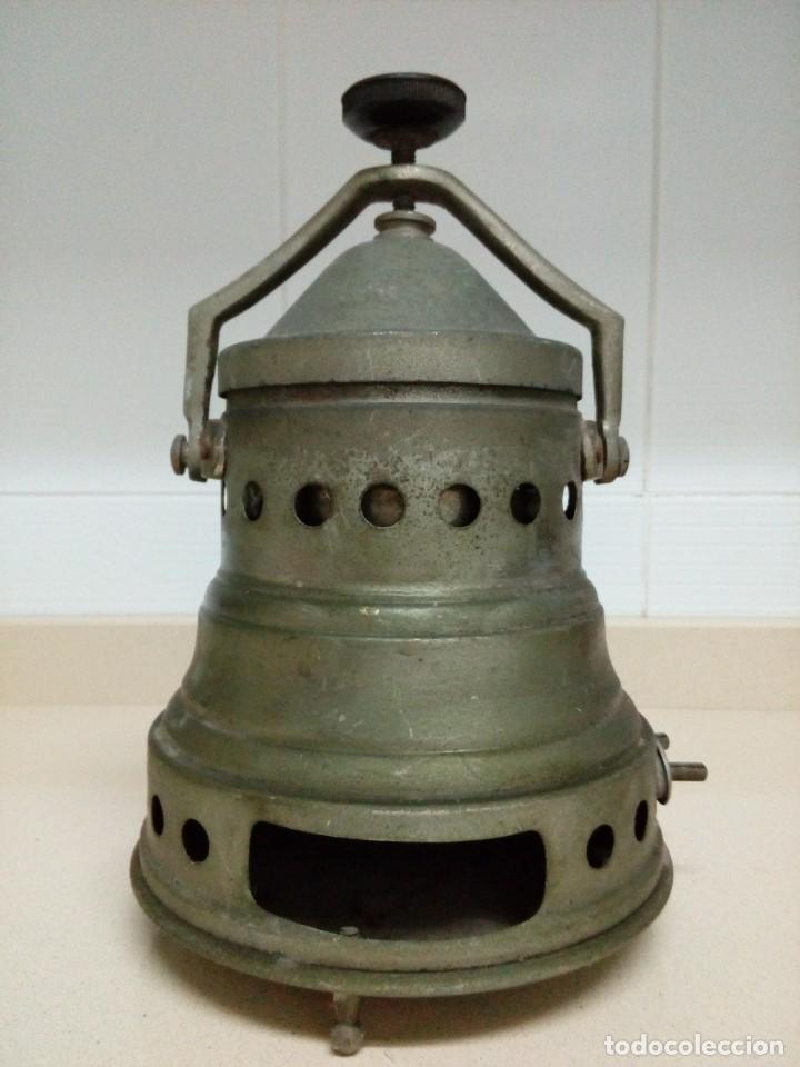 Antigüedades: Cafetera eléctrica.Altura 25 cm - Foto 5 - 194897936