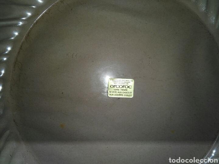 Antigüedades: LOTE DE DOS CAJAS DE 12 PLATOS ARCOROC ROSALINE - Foto 4 - 194906418