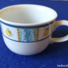 Antigüedades: TAZA DE PORCELANA. MARCA SANDRA RICH PORCELANA COLLECTION. . Lote 194908547