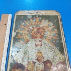 Antigüedades: CAJA DE METAL ANTIGUA. Lote 194911962
