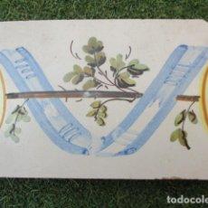 Antigüedades: AZULEJO VALENCIANO SIGLO XVIII. Lote 194916281