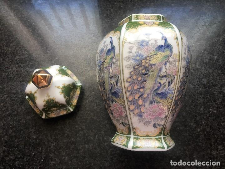 Antigüedades: JARRON FINO JAPONES - Foto 3 - 194926708