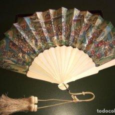 Antigüedades: ABANICO CHINO 1000 CARAS SIGLO XIX. Lote 194927606