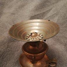Antigüedades: LAMPARA QUINQUE. ESTA NUEVO. HECHO EN COBRE. Lote 194927726