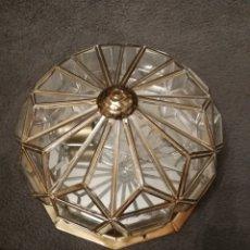Antigüedades: LAMPARA ANTIGUA DE TECHO. Lote 194930170