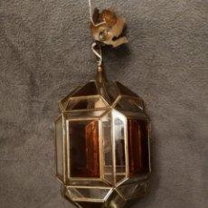 Antigüedades: LAMPARA ANTIGUA DE TECHO. Lote 194930280