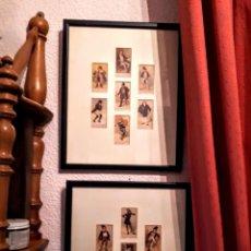 Antigüedades: PAREJA DE CUADROS. Lote 194933991