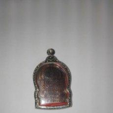 Antigüedades: ANTIGUO RELICARIO BUDISTA,CON DIOS EN RELIEVE EN SU INTERIOR . Lote 194934750