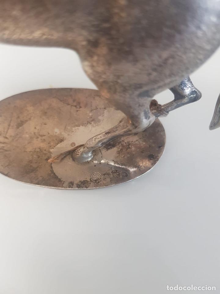 Antigüedades: CABALLO DE PLATA DE LEY - Foto 3 - 194937833