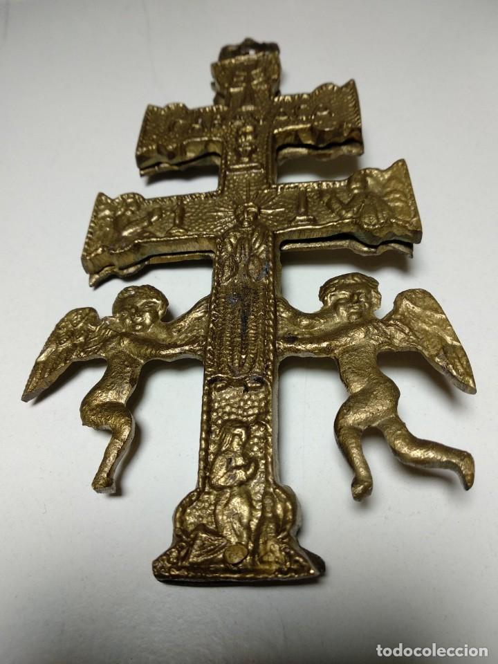 CRUZ DE CARAVACA ANTIGUA (Antigüedades - Religiosas - Cruces Antiguas)