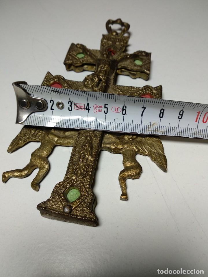 Antigüedades: Cruz de Caravaca antigua - Foto 5 - 194941028