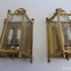 Antigüedades: PAREJA DE ANTIGUOS APLIQUES . Lote 194941518