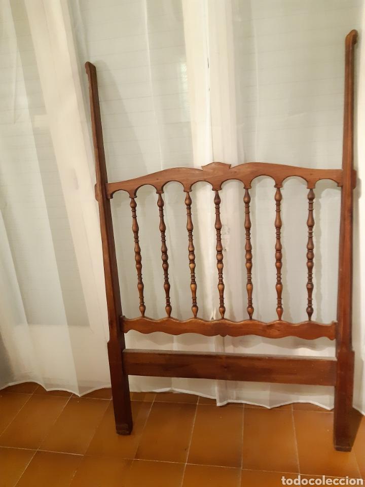 DOS CABEZALES RUSTICOS (Antigüedades - Muebles Antiguos - Camas Antiguas)