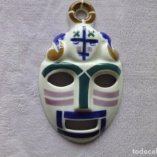 Antigüedades: MÁSCARA CARETA Nº 2 SARGADELOS SIGLO XX ALTO 21 CM APROX. Lote 194952372
