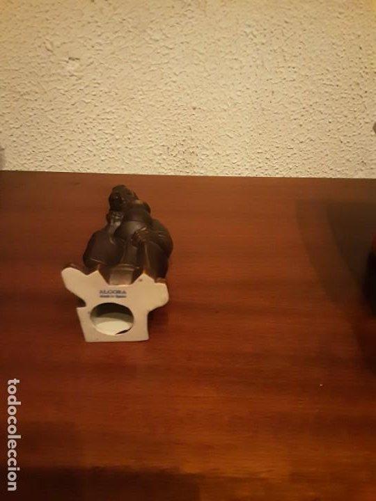 Antigüedades: Curioso monje alfarero - Porcelana Algora - sellada - difícil de encontrar - Foto 5 - 194960322