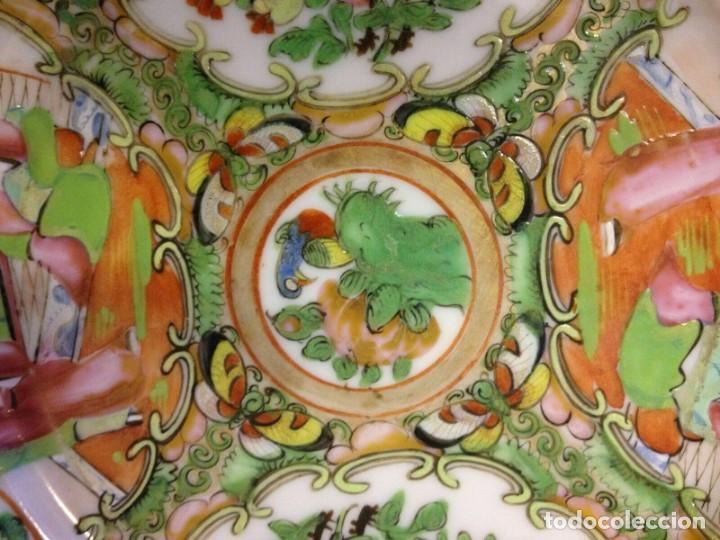 Antigüedades: Plato antiguo de porcelana china de la dinastía Qing - Foto 2 - 194965322