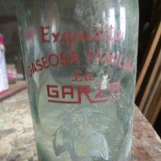 Antigüedades: BOTELLA ANTIGUA DE GASEOSA. Lote 194966025