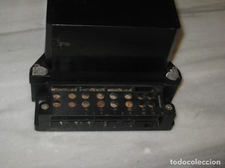 Antigüedades: Antiguo contador de la luz trifasico a 4 hilos - Ladis & GyR. 1988. - Foto 7 - 194966657