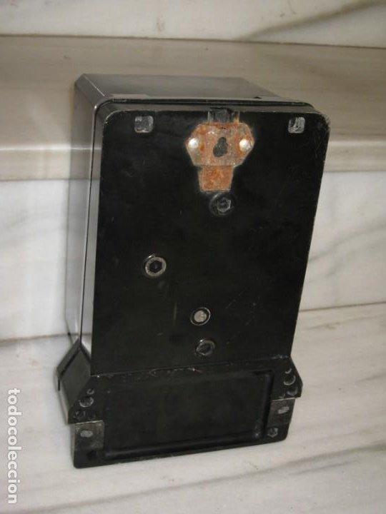 Antigüedades: Antiguo contador de la luz trifasico a 4 hilos - Ladis & GyR. 1988. - Foto 9 - 194966657