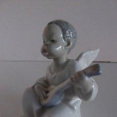 Antigüedades: ANGELITO NEGRO MÚSICO DE LLADRÓ. Lote 194966980
