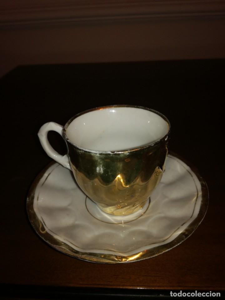 Antigüedades: Antigua taza de porcelana - Foto 2 - 194967812