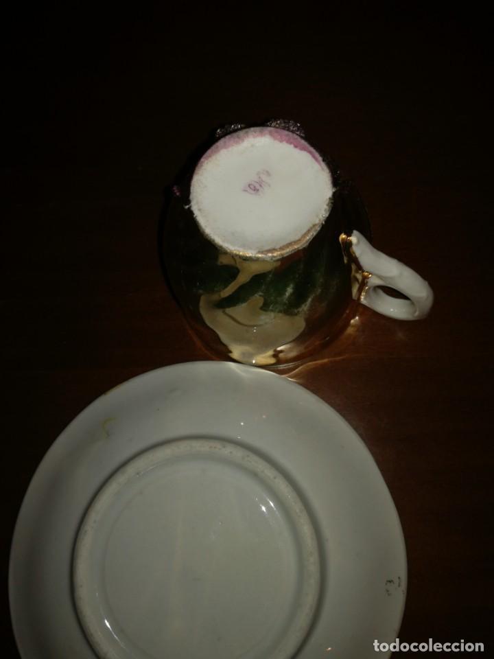 Antigüedades: Antigua taza de porcelana - Foto 3 - 194967812